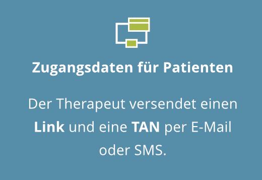 Zugangsdaten für Patienten
